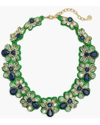 Talbots - Fabric-backed Necklace - Lyst