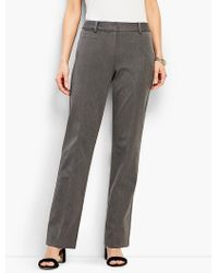 Talbots - Refined Bi-stretch Windsor Pant - Lyst