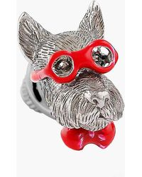 Tateossian - Scottish Terrier Silver Pin - Lyst