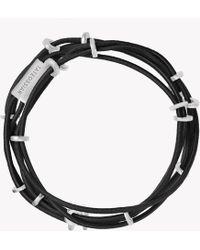 Tateossian | Capri Silver Friendship Bracelet | Lyst