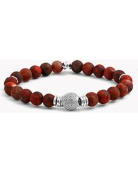 Tateossian - Stonehenge Silver Bracelet - Lyst