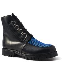 Terry De Havilland - Sienna Boot Blue Crystal - Lyst