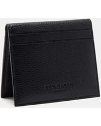 Ted Baker - Coloured Leather Cardholder - Lyst