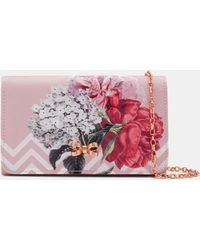Ted Baker - Palace Gardens Bow Evening Bag - Lyst