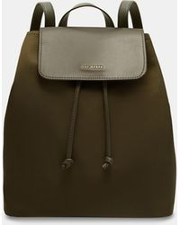 c8a75b6b36 Ted Baker Colorblock Backpack in Black - Lyst