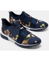 Ted Baker - Printed Running Trainers - Lyst