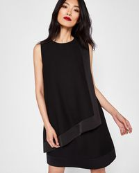Ted Baker - Double Layer Tunic Dress - Lyst