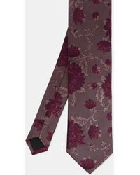 Ted Baker - Floral Jacquard Silk Tie - Lyst