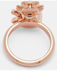 Ted Baker - Crystal Cat Ring - Lyst