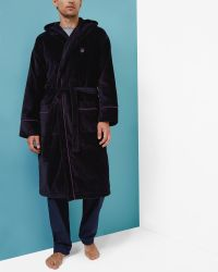 Ted Baker - Cotton Dressing Gown - Lyst