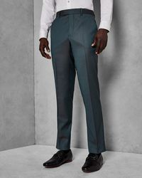 Ted Baker - Pashion Slim Plain Wool Trousers - Lyst