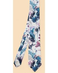 Ted Baker - Floral Print Silk Tie - Lyst