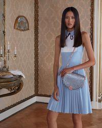 95226a935897db Ted Baker Ivara Striped Jacquard Tunic Dress in Blue - Lyst
