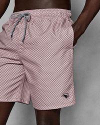 Ted Baker - Geo Printed Swim Shorts - Lyst
