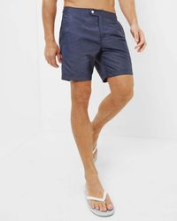 Ted Baker - Oxford Swim Shorts - Lyst