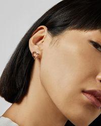 Ted Baker - Layered Heart Earrings - Lyst