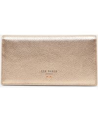 Ted Baker - Bow Detail Leather Wallet - Lyst