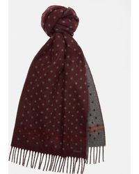 Ted Baker - Spotted Scarf - Lyst
