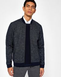 Ted Baker - Jersey Bomber Jacket - Lyst