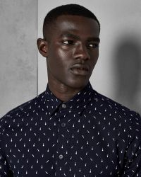 Ted Baker - Musical Instrument Printed Cotton Shirt - Lyst