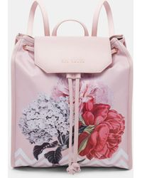 Ted Baker - Palace Gardens Drawstring Backpack - Lyst
