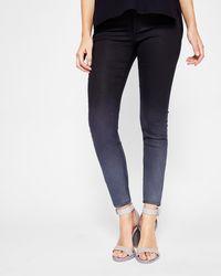 Ted Baker - Ombré Wash Skinny Jeans - Lyst