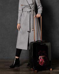 Ted Baker - Medium Splendour Print 28-inch Hard Shell Spinner Suitcase - Lyst