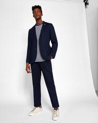 Ted Baker - Linen-blend Jacket - Lyst