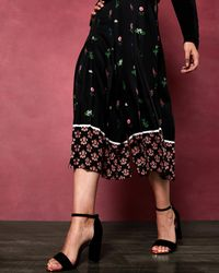 Ted Baker - Florence Paper Bag Culottes - Lyst