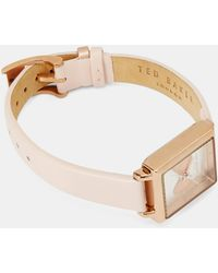 Ted Baker - Bow Square Watch - Lyst