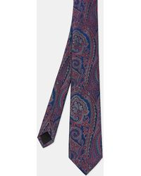 Ted Baker - Paisley Silk Tie - Lyst