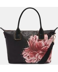 Ted Baker - Tranquility Small Nylon Tote - Lyst