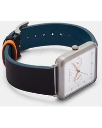 862d675530f Ted Baker - Square Dial Watch - Lyst