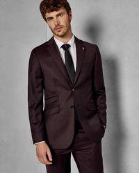 Ted Baker - Sterling Flannel Suit Jacket - Lyst