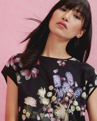 Ted Baker - Kensington Floral T-shirt - Lyst
