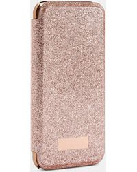 Ted Baker Glitter Iphone 6/6s/7/8 Book Case