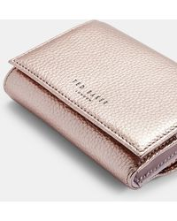 Ted Baker - Mini Leather Bobble Purse - Lyst