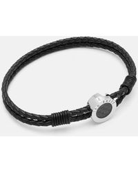 Ted Baker - Carbon Fibre Bracelet - Lyst