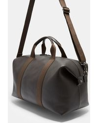 Ted Baker - Leather Holdall - Lyst