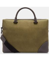 Ted Baker - Contrast Corner Document Bag - Lyst