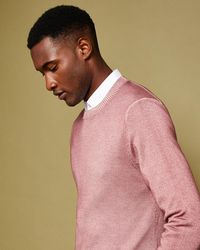 Ted Baker - Crew Neck Wool Jumper - Lyst