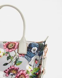 Ted Baker - Oracle Small Nylon Tote Bag - Lyst