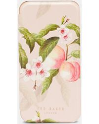 Ted Baker - Peach Blossom Iphone 6/6s/7/8 Case - Lyst