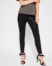 115630e57ad659 Ted Baker Mid Wash Skinny Jeans in Blue - Lyst