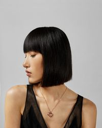 Ted Baker - Layered Heart Pendant - Lyst