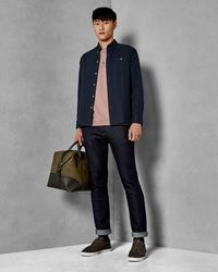 Ted Baker - Straight Fit Dark Rinse Jeans - Lyst