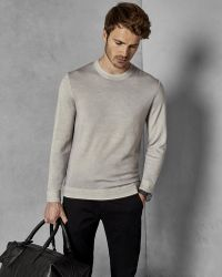Ted Baker - Garment-dyed Wool Jumper - Lyst