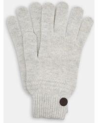 Ted Baker - Multi Stitch Cashmere Blend Gloves - Lyst