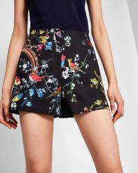 Ted Baker - Opulent Fauna Shorts - Lyst