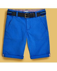 Ted Baker - Belted Chino Shorts - Lyst
